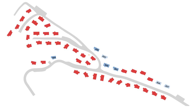 Tjørhomfjellet Panorama situasjonskart